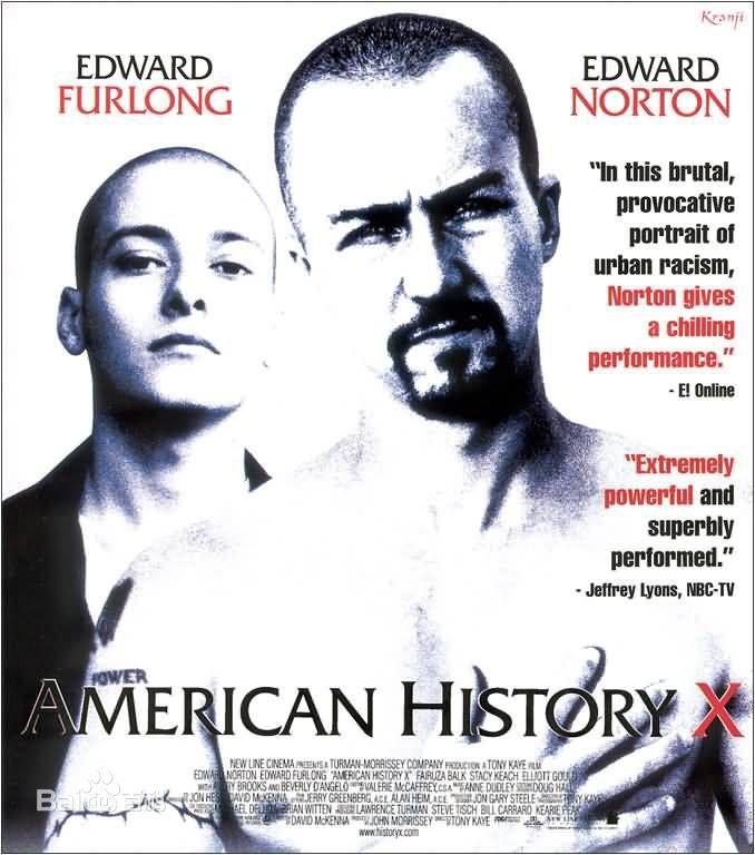 经典电影《美国X档案》8.6评分1024分辨率BD中英双字