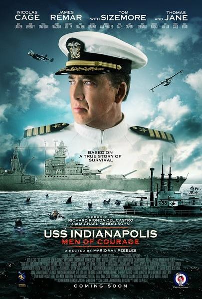 2016最新电影《勇者无惧》豆瓣5.2 分 USS Indianapolis: Men of Courage(2016)
