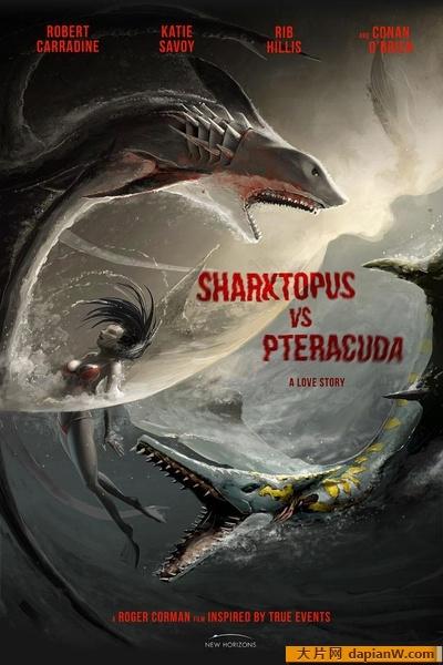 经典电影《八爪狂鲨大战梭鱼翼龙》BD高清下载