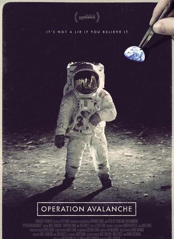 2016最新电影《雪崩行动》阿波罗登月事件