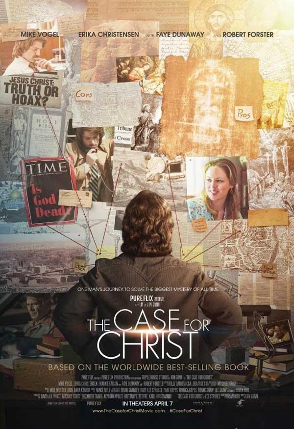 2017最新电影《重审基督》根據基督家作家史特博的暢銷紀實小說改編