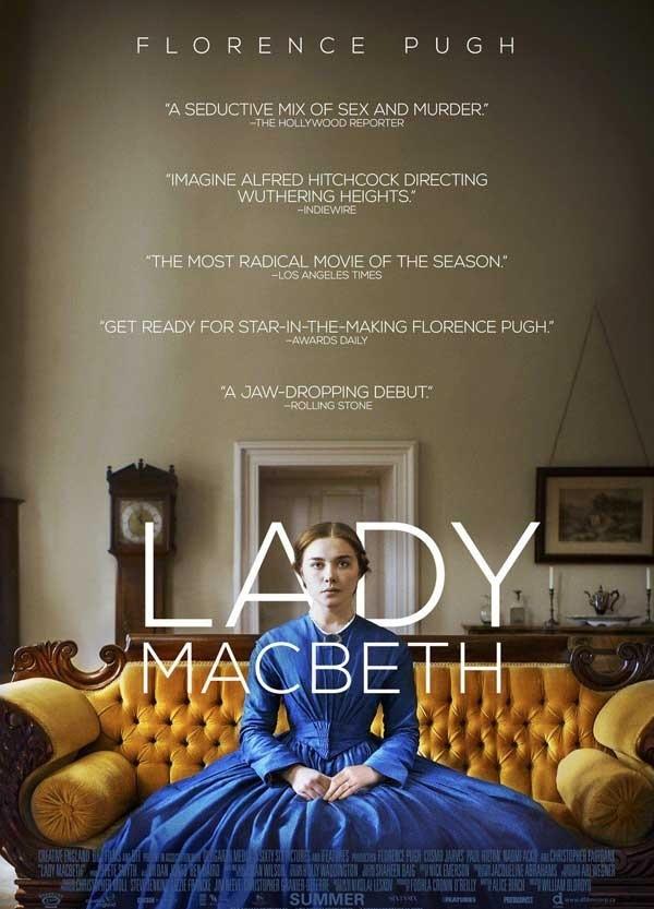 2016经典电影《麦克白夫人》根据真实故事改编