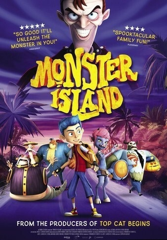 2017动画电影《怪物岛》720p.HD中英双字