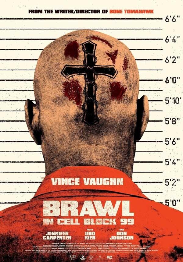 2017最新电影《99号牢房内的博弈》第42届多伦多国际电影节观众选择奖提名