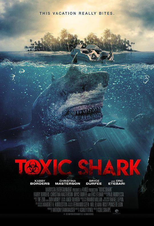 2017惊悚《毒鲨》鲨鱼正在滋生周围的水源