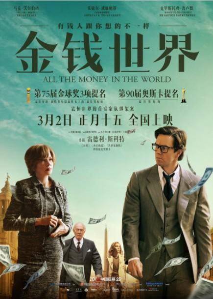 2018最新电影《金钱世界》未删减版-马克沃尔伯格悬疑犯罪大片