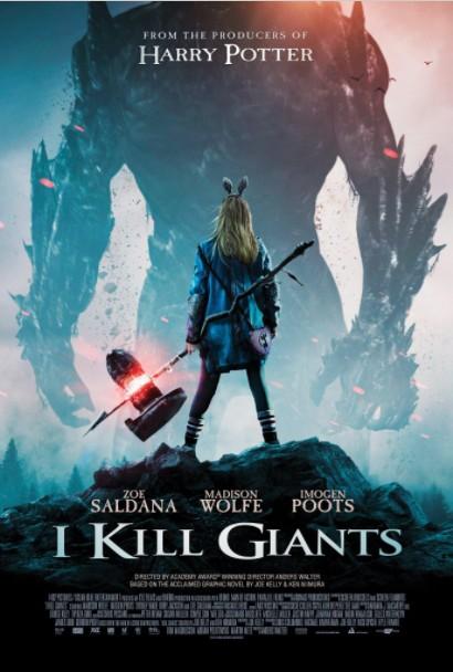 2018最新电影《巨人女杀手》英美合拍惊悚奇幻电影