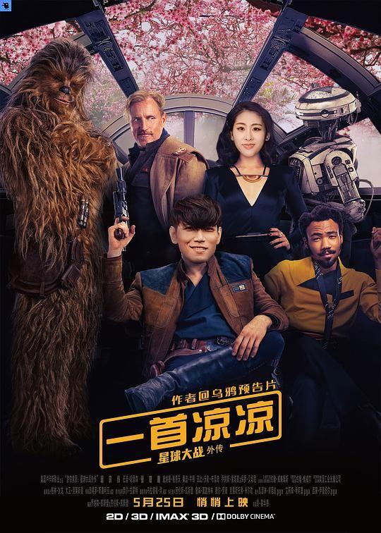 2018最新电影《游侠索罗:星球大战外传》5.25上映科幻动作新片