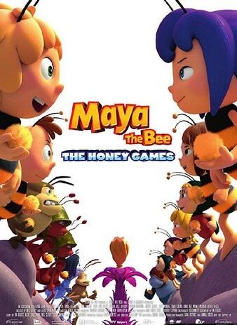 2018动画《玛雅蜜蜂历险记2:蜜糖游戏》720p.BD中英双字