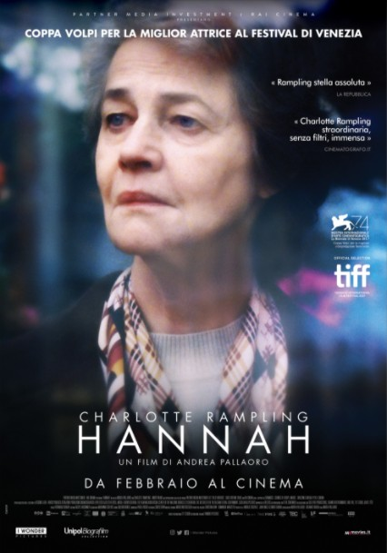 2018剧情《汉娜/汉娜的日与夜》演绎一个老人的孤独