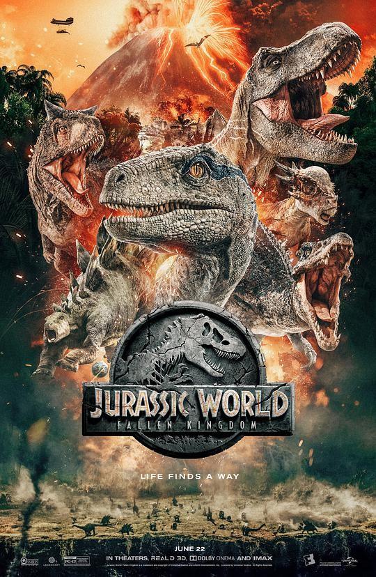 2018科幻《侏罗纪世界2/侏罗纪世界:殒落国度》[官方中文字幕][1080P]