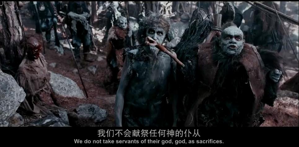 2018动作《塞西亚:复仇之剑》豆瓣7.1分暴力战争大片