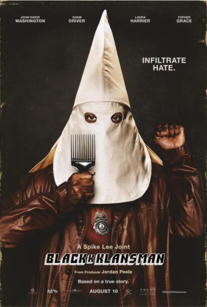2018欧美喜剧《黑色党徒》美国最新政治喜剧犯罪电影
