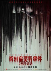2018大陆恐怖《解剖室灵异事件之男生宿舍》8月31日公映国产恐怖片