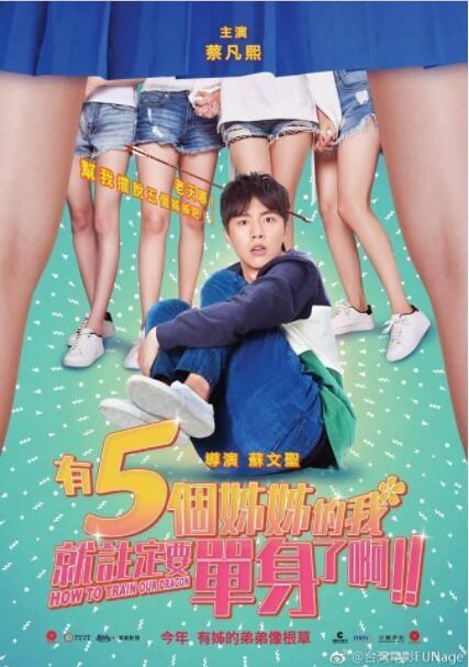 2018喜剧《有5个姐姐的我就注定要单身了啊》院线热映青春喜剧
