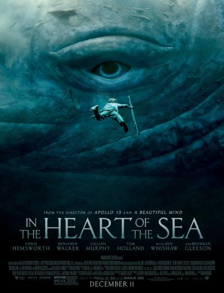 高分必看《白鲸传奇:怒海之心》雷神带小蜘蛛去捕鲸鱼!